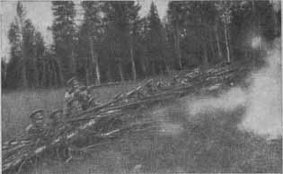Русская батарея на юго западном