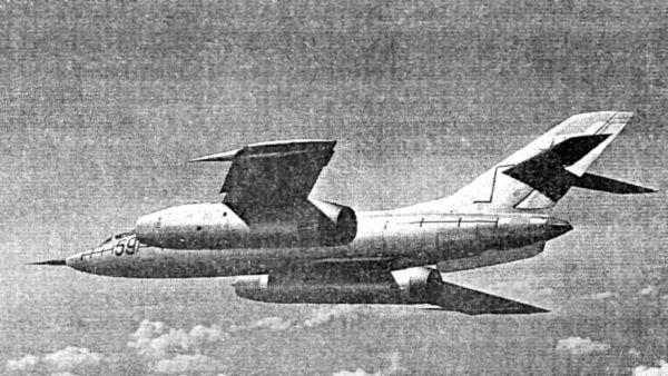 Як-28 в полете
