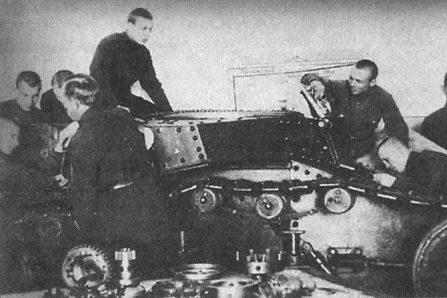 Танк МС-1 (Т-18), 1928 г.